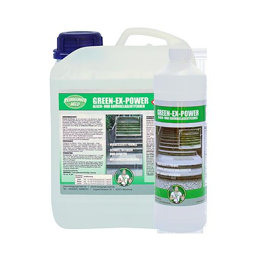 Reinigungsheld Algen- und Grünbelagentferner Green-Ex-Power